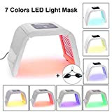 7 couleurs lampe de beauté photon thérapie lumière PDT LED, lumière Appareil de beauté pour peau traitement anti-rides Spot Distance acné anti-âge raffermissement de la peau acné Traitement