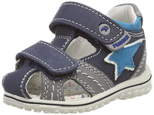 PRIMIGI Baby Jungen PSW 33781 Sandalen, Blau (Azzurro-GRIG.Sc 3378122), 24 EU
