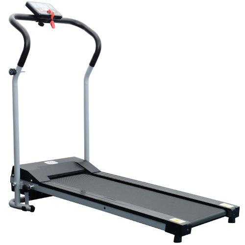 Homcom Tapis de Course Fitness électrique Pliable - 1 à 10 Km/h - écran LCD Multifonctions -...