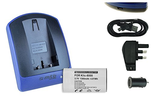 battery-charger-usb-main-car-klic-8000-for-kodak-easyshare-z612-z812-z1015-