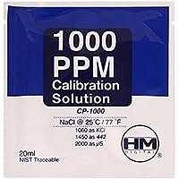 Solución de calibración HM Digital TDS 1000 ppm (20ml)