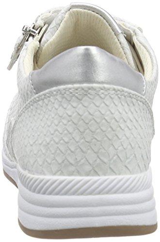 Jenny Granville Damen Sneakers Grau (kiesel,argento 05)