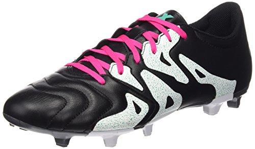 Scarpe Da Calcio Adidas Uomo X 15.3 Fg / Ag In Pelle Vari Colori (nero / Rosso / Verde (negbas / Rosimp / Menimp))