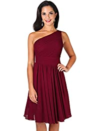 43e970acda KRISP® Women Bridesmaid Dress Formal Fashion Off Shoulder Chiffon Midi Party