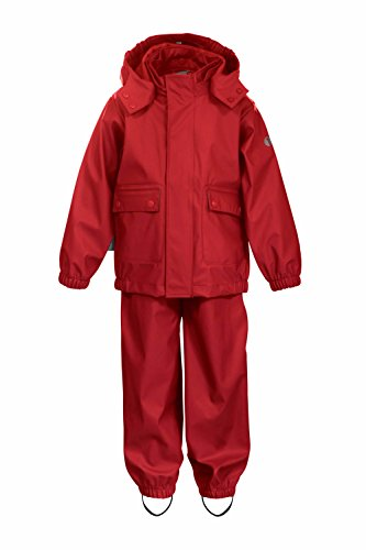 TICKET TO HEAVEN 2tlg. Regenanzug mit abnehmbarer Kapuze Kinder Jungen Mädchen