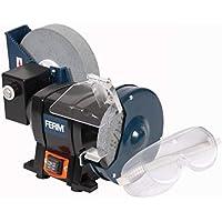 FERM BGM1021 Amoladora de banco - Seco y húmedo - 250 W - 150/200mm