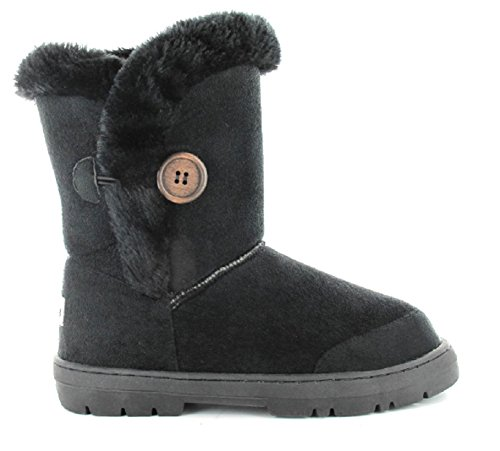 ella Girls Kids Winter Boot Comfortable Faux Fur Lined Size 4 5 6 7 8 9 10 11 12 13 1 2 Casual Trendy