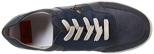 Rieker Damen N4001 Sneakers Blau (Pazifik/ozean/royal/stahl / 14)