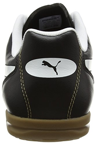 Puma Classico It, Chaussures de Football Homme Noir (Black-white-puma Gold 01)