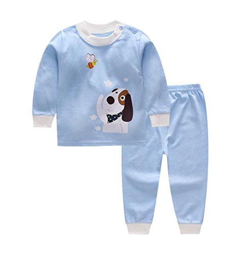 Bold N Elegant - Be Bold Inside & Elegant Outside Baby's Cotton Cartoon Printed Twin Set (BNEKD10009-B1, Scooby, 3 to 12 Months) - 2 Piece