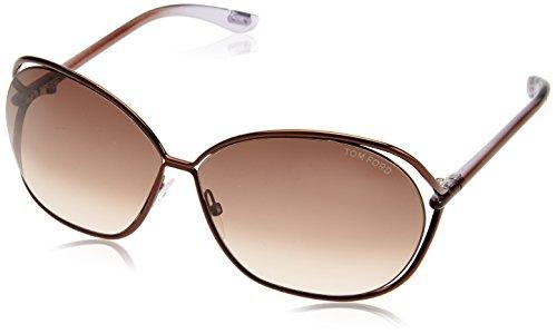 Tom Ford Sonnenbrille Carla (66 mm) braun
