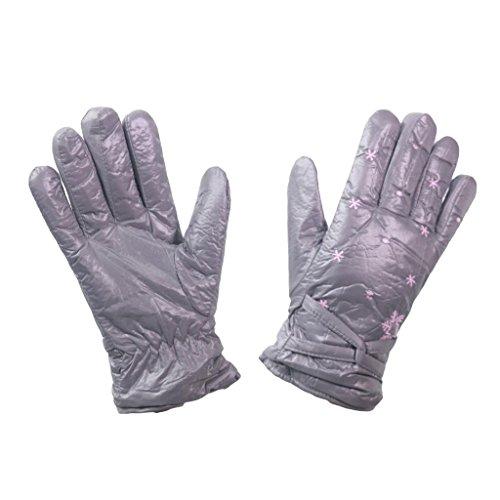 Schuhlöffel, Fleece gefütterte Outdoor Herren Handschuhe Ski Glove, atmungsaktiv, schnelltrocknend Hiking Trekking und Walking-Handschuh