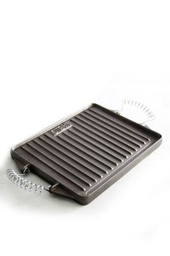 Raclette-grill Gusseisen (Vaello: Plancha / Grillplatte, groß, 27x48cm)