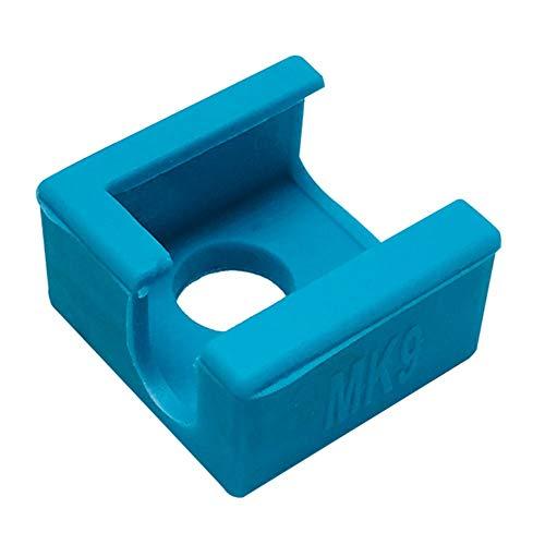3pcs * mk9 calzini in silicone per mk7 / mk8 / mk9 blocco riscaldatore blocco riscaldatore isolamento in silicone per replicatore anet prusa i4