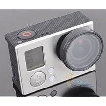 37MM UV Filter Linsen Protector für Gopro Hero 3 3+ Hero 4 Glas Filter Aufsatz Linsenschutz UV Filter zum Aufstecken