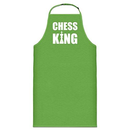 Chess King With Chesspiece Kochschürze by Shirtcity
