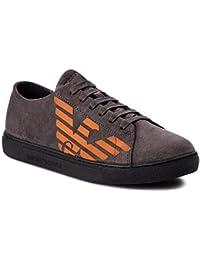 Amazon.it  Scarpe Armani Uomo - Grigio   Sneaker   Scarpe da uomo ... db9a725d7dc
