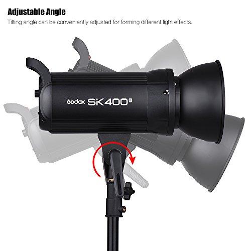 GodoxSK400II-professionale-400-Wsflash-stroboscopico-da-studio-24-G-Wireless-X-SystemGN65-5600K-con-150W-modellazione-lampada-da-modellazione-con-mini-treppiede-da-scrivania