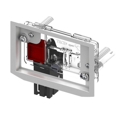 Preisvergleich Produktbild Tece Einwurfschacht für WC-Reinigungswürfel TECE 9240950 zum Einbau von vorne, 9240950