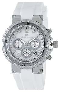 Carlo Monti Damen-Armbanduhr Carrara Analog Silikon CM202-186