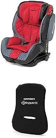 Foppapedretti Isodinamyk Seggiolino Auto, Gruppo 1/2/3 (9-36 Kg), per Bambini da 9 Mesi fino a 12 Anni, Rosso
