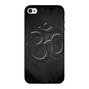 Neo World Premium Om Namah Shivay Back Case Cover for iPhone 4 4s
