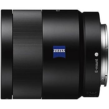 Sony SEL-55F18Z Zeiss Standard Objektiv (Festbrennweite, 55 mm, F1,8, Vollformat, geeignet für A7, A6000, A5100, A5000 und Nex Serien, E-Mount) schwarz
