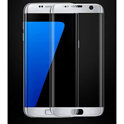 2 x Samsung Galaxy S7 Edge Plus Folie Bildschirmschutz 3D Schutzglas Panzerglas Weiß
