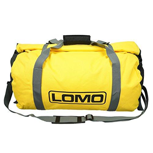 Lomo Dry Bag Holdall 40L Wasserdichte Reisetasche - Gelb, Duffle Bag