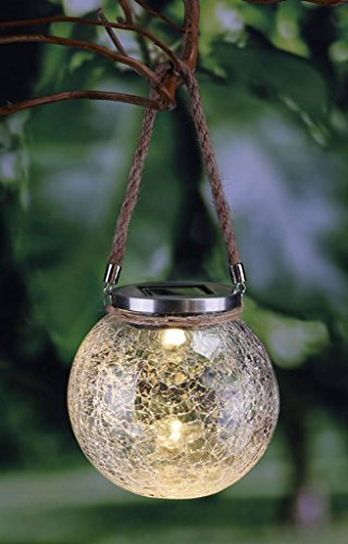 HI LED-Glas-Kugelleuchte ? 11 cm
