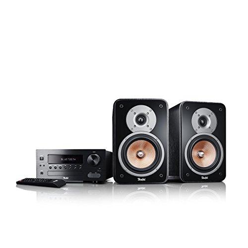 Teufel Kombo 42 BT Schwarz Regal-Lautsprecher sound bassreflex 2-wege hifi Hochtöner Lautsprecher high end hifi speaker lautsprecher