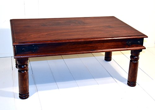 Present Company Indian Rosewood Sheesham Thakat Coffee Table Fairly Traded From India 60 x 90