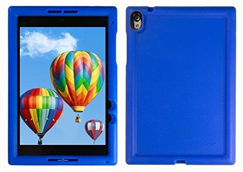 Bobj Silikon-Hulle Heavy Duty Tasche fur Nexus 9 Tablette - BobjGear Schutzhulle (Blau)