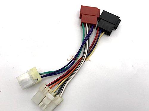 Autostereo auto Car stereo cablaggio cavo adattatore 12-119ISO standard Harness adattatore radio per Nissan 1983+ cablaggio per auto stereo lettore CD Plug - Nissan Radio Cablaggio