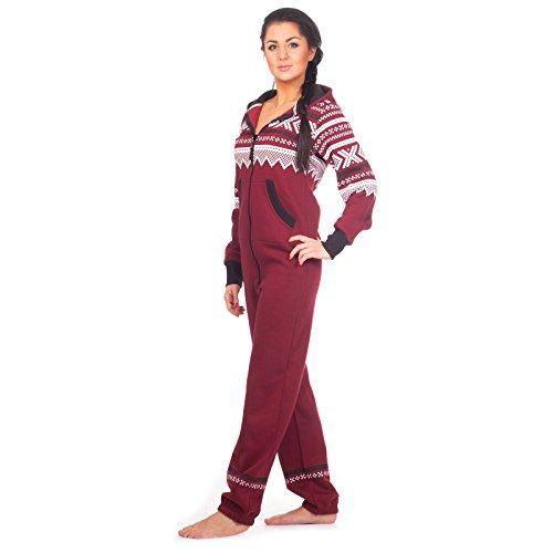 loomiloo-jumpsuit-freizeitanzug-overall-hausanzug-einteiler-strampler-body-anzug-jumpsuits-overalls-pyjama-norweger-muster-ml-weinrot-2