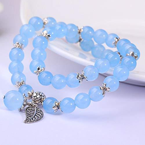 weiblichen Armband Schmuck Multi-Kreis Mode Wilden Perlen ()