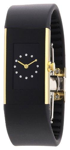 Rosendahl - 43185 - Montre Femme - Quartz - Analogique - Bracelet Caoutchouc Noir