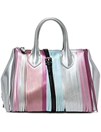 255ae85663 GUM Gianni Chiarini Design | Borsa A Mano Fourty Media Frange Multicolor |  GUM_BS3600T_7971