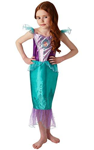 Rubie 's 640716M Disney Princess Ariel Gem Kostüm, Mädchen, mittel (Kostüme Disney Princess)