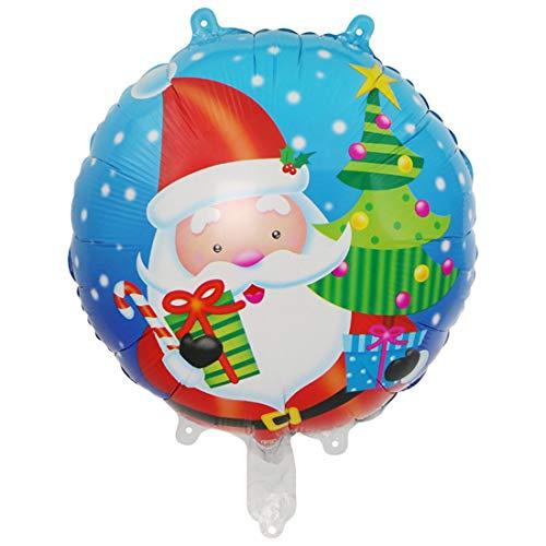 Weihnachtsfeierdekorationen & Zubehör, 18 Zoll Weihnachten Weihnachtsmann Weihnachtsbäume Schneemann Schneeflocke Ballon