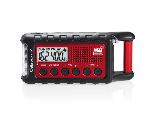 Midland Deluxe Emergency Crank Radio (pack of 1 Ea)
