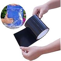 Janolia Waterproof Tape, PVC Leak Repair Self Adhesive Tape, Fixing Tool for Emergency Pipe Plumbing and Water Hose Leaks, Electrical Cords
