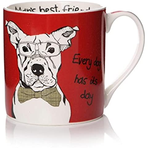 """humourous Cane Tazza """"Giorno di ogni cane ha Casey Rogers migliore amico dell"""