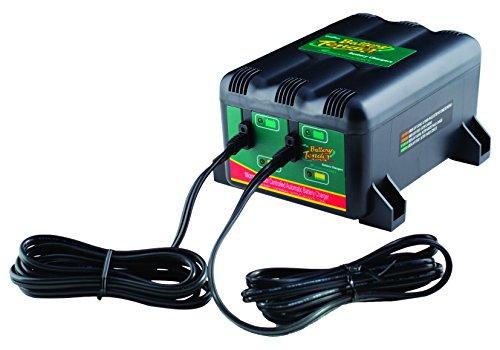 Battery Tender 022-0165-DL-EU Batterie Ladegerät, 2 Bank, 12V, 1.25A Deltran Battery Tender