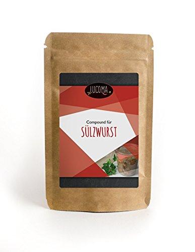 Sülzwurst Compound - 28 Gramm. Gewürzmischung für Küchenmaschinen von Lucoma – Wurst einfach...