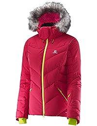 Salomon - SALOMON - Veste Ski Femme - ICETOWN JACKET W Rouge - tailles: XS