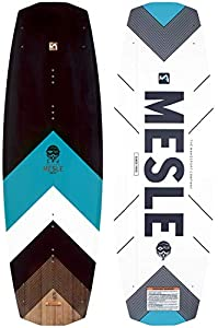 MESLE Wakeboard Pilot 142 cm, 75-100+ kg, Boot und Cable Board mit Sliderbase