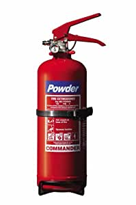 2KG Dry Powder ABC Fire Extinguisher for Home, Office or Car, includes Mounting Bracket, FREE Express Delivery