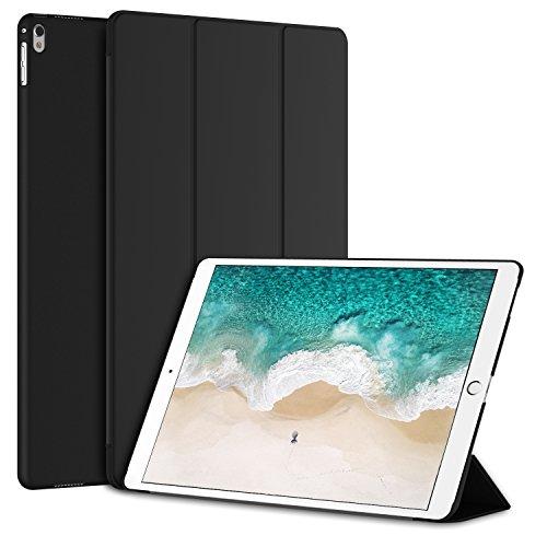 """JETech Custodia per nuovo iPad Pro 12,9 2017 Case Cover (Apple New iPad Pro 12,9"""" 2017), Auto Sveglia/Sonno (Nero)"""