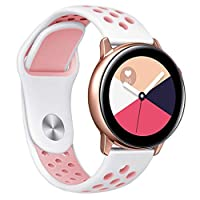 ‏‪Large Silicone Replacement Band Wrist Strap For Samsung Galaxy Watch Active‬‏